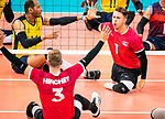 Austin Hinchey and Jesse Ward, Lima 2019 - Sitting Volleyball // Volleyball assis.<br />