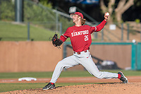 STANFORD, CA - JUNE 6: Quinn Mathews during a game between UC Irvine and Stanford Baseball at Sunken Diamond on June 6, 2021 in Stanford, California.