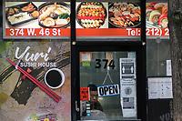 New York reopen indoor dining at 25% capacity in restaurants