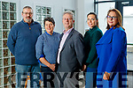 Steve Moore (Tús Supervisor), Rena Blake (Kerry Social Farming), Eamonn O'Reilly (CEO NEWKD), Lorraine Bowler (Community Development NEWKD) and Patricia Dowling Coordinator (NEWKD)