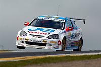 Round 9 of the 2007 British Touring Car Championship. #77 Mike Jordan (GBR). Team Eurotech. Honda Integra Type-R.