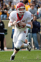 The Pittsburgh Panthers defeated the Rutgers Scarlet Knights 41-21 on October 23, 2010 at Heinz Field, Pittsburgh, Pennsylvania....Rutgers quarterback Chas Dodd. The Pittsburgh Panthers defeated the Rutgers Scarlet Knights 41-21 on October 23, 2010 at Heinz Field, Pittsburgh, Pennsylvania....