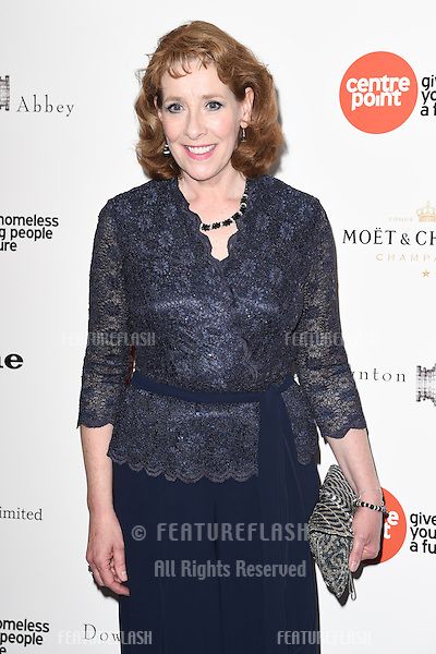 Phyllis Logan arrives for The Downton Abbey Ball 2015 in aid of Centrepoint charity at the Savoy Hotel, London. 30/04/2015 Picture by: Steve Vas / Featureflash