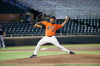 AZL Giants relief pitcher Joey Marciano (65) delivers a pitch to the plate against the AZL Padres 2 on July 13, 2017 at Scottsdale Stadium in Scottsdale, Arizona. AZL Giants defeated the AZL Padres 2 11-3. (Zachary Lucy/Four Seam Images)