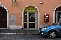 """Post office: open.<br /> <br /> Rome, 12/03/2020. Documenting Rome under the Italian Government lockdown for the Outbreak of the Coronavirus (SARS-CoV-2 - COVID-19) in Italy. On the evening of the 11 March 2020, the Italian Prime Minister, Giuseppe Conte, signed the March 11th Decree Law """"Step 4 Consolidation of 1 single Protection Zone for the entire national territory"""" (1.). The further urgent measures were taken """"in order to counter and contain the spread of the COVID-19 virus"""" on the same day when the WHO (World Health Organization, OMS in Italian) declared the coronavirus COVID-19 as a pandemic (2.).<br /> ISTAT (Italian Institute of Statistics) estimates that in Italy there are 50,724 homeless people. In Rome, around 20,000 people in fragile condition have asked for support. Moreover, there are 40,000 people who live in a state of housing emergency in Rome's municipality.<br /> March 11th Decree Law (1.): «[…] Retail commercial activities are suspended, with the exception of the food and basic necessities activities […] Newsagents, tobacconists, pharmacies and parapharmacies remain open. In any case, the interpersonal safety distance of one meter must be guaranteed. The activities of catering services (including bars, pubs, restaurants, ice cream shops, patisseries) are suspended […] Banking, financial and insurance services as well as the agricultural, livestock and agri-food processing sector, including the supply chains that supply goods and services, are guaranteed, […] The President of the Region can arrange the programming of the service provided by local public transport companies […]».<br /> Updates: on the 12.03.20 (6:00PM) in Italy there 14.955 positive cases; 1,439 patients have recovered; 1,266 died.<br /> <br /> Footnotes & Links:<br /> Info about COVID-19 in Italy: http://bit.do/fzRVu (ITA) - http://bit.do/fzRV5 (ENG)<br /> 1. March 11th Decree Law http://bit.do/fzREX (ITA) - http://bit.do/fzRFz (ENG)<br /> 2. http://bit.do/fzRKm"""