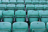 General view of empty seats around the ground ahead of Essex CCC vs Worcestershire CCC, LV Insurance County Championship Group 1 Cricket at The Cloudfm County Ground on 9th April 2021