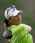 CHON BURI, THAILAND - FEBRUARY 17:  Se Ri Pak of South Korea tees off on the 11th hole during day two of the LPGA Thailand at Siam Country Club on February 17, 2012 in Chon Buri, Thailand.  Photo by Victor Fraile / The Power of Sport Images