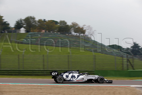 1st November 2020, Imola, Italy; FIA Formula 1 Grand Prix Emilia Romagna, Race Day; 26 Daniil Kvyat RUS, Scuderia AlphaTauri Honda