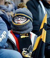 Photo: Richard Lane/Richard Lane Photography. Wasps v Leinster.  European Rugby Champions Cup. 20/01/2019. Wasps supporter.