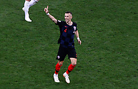 MOSCU - RUSIA, 11-07-2018: Ivan PERISIC jugador de Croacia celebra después de anotar el priemr gol de  su equipo  Inglaterra durante partido de Semifinales por la Copa Mundial de la FIFA Rusia 2018 jugado en el estadio Luzhnikí en Moscú, Rusia. / Ivan PERISIC player of Croatia celebrates after scoring the first goal of his team to England during match of Semi-finals for the FIFA World Cup Russia 2018 played at Luzhniki Stadium in Moscow, Russia. Photo: VizzorImage / Julian Medina / Cont