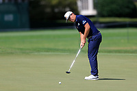 4th September 2020, Atlanta GA, USA;  Sungjae Im putts on the 9th green during the first round of the TOUR Championship  at the East Lake Golf Club in Atlanta, GA.