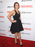 Paloma Kwiatkowski attends The Premiere Party for A&E's Those Who Kill and Season 2 of Bates Motel held at Warwick in Hollywood, California on February 26,2014                                                                               © 2014 Hollywood Press Agency
