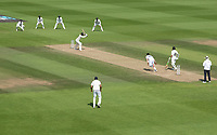 Devon Conway, New Zealand leaves outside off stump from Jasprit Bumrah, India during India vs New Zealand, ICC World Test Championship Final Cricket at The Hampshire Bowl on 23rd June 2021