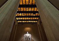 Lincoln Memorial Monument in Washington DC.