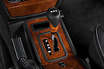 Gear shift detail view of a 2008 Mercedes Benz G55 AMG