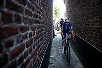 Michael Morkov (DEN/Deceuninck - Quick Step) getting back to the teambus post-race<br /> <br /> 17thBenelux Tour 2021 (2.UWT)<br /> (Final) Stage 7: from Namur to Geraardsbergen (178km)<br /> <br /> ©kramon