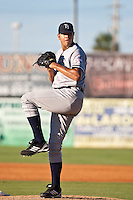 Dellin Betances of the Tampa Yankkes during the game against the Daytona Cubs July 7 2010 at Jackie Robinson Ballpark in Daytona Beach, Florida. Photo By Scott Jontes/Four Seam Images