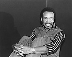 Earth Wind and Fire 1985 Maurice White..