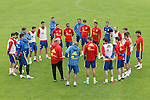 Spain's team during preparing training stage to Euro 2016. May 30,2016.(ALTERPHOTOS/Acero)