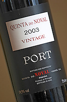 vintage 2003 quinta do noval douro portugal