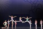 EN SOL....Choregraphie : ROBBINS Jerome..Mise en scene : ROBBINS Jerome..Compositeur : RAVEL Maurice..Compagnie : Ballet de l Opera National de paris..Decor : ERTE..Lumiere : TIPTON Jennifer..Costumes : ERTE..Avec :..ALBISSON Amandine..BELLET Aurelia..GRANIER Christelle..RENAVAND Alice..WESTERMANN Severine..ROBERT Caroline..GAUDION Mallory..HOUETTE Aurelien..MAGNENET Florian..MEYZINDI Julien..BERTAUD Sebastien..VALASTRO Simon..Lieu : Opera Garnier..Ville : Paris..Le : 21 04 2010..© Laurent PAILLIER / photosdedanse.com