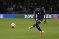 28th September 2021, Parc des Princes, Paris, France: Champions league football, Paris-Saint-Germain versus Manchester City:  TAVARES MENDES ( 25 - PSG ) takes a shot at goal
