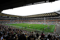 General view of Twickenham Stadium during the iRB Marriott London Sevens on Saturday 11th May 2013 (Photo by Rob Munro)