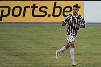 RIO DE JANEIRO (RJ) - 16/01/2021 - FLUMINENSE-SPORT - Lucca, do Fluminense, comemora gol Partida entre Fluminense e Sport, válida pela 30ª rodada do Campeonato Brasileiro 2020, realizada no Estádio Nilton Santos (Engenhão), no Rio de Janeiro, neste sábado (16).