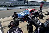 #18: Jeffrey Earnhardt, Joe Gibbs Racing, Toyota Supra iK9 makes a pit stop, Sunoco
