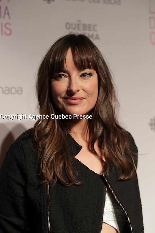 Pascale Bussiere<br /> , Gala du cinema Quebecois.<br /> <br /> Photo : Pierre Roussel - Agence Quebec Presse