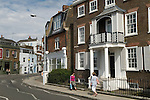 Barnes southwest London Uk. The Terrace road. 2011