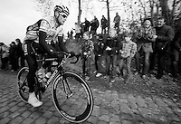 Kuurne-Brussel-Kuurne 2012<br /> Tom Boonen on the Oude Kwaremont