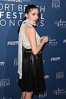 Bel Powley<br /> arriving for the Newport Beach Film Festival UK Honours 2020, London.<br /> <br /> ©Ash Knotek  D3551 29/01/2020