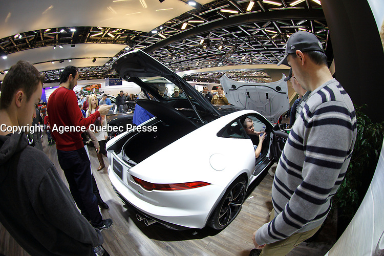 Montreal Car Show 2015<br /> <br /> <br /> PHOTO :  Agence Quebec Presse
