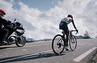 John Darwin Atapuma (COL/UAE-Emirates) up the Col d'Izoard (HC/2360m/14.1km/7.3%)<br /> <br /> 104th Tour de France 2017<br /> Stage 18 - Briancon › Izoard (178km)