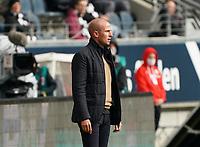 Trainer Sebastian Hoeneß (TSG 1899 Hoffenheim)<br /> - 03.10.2020: Fussball  Bundesliga, Saison 20/21, Spieltag 3, Eintracht Frankfurt vs. TSG 1899 Hoffenheim, emonline, emspor, v.l. Deutsche Bank Park<br /> Foto: Marc Schueler/Sportpics.de <br /> Nur für journalistische Zwecke. Only for editorial use. (DFL/DFB REGULATIONS PROHIBIT ANY USE OF PHOTOGRAPHS as IMAGE SEQUENCES and/or QUASI-VIDEO)