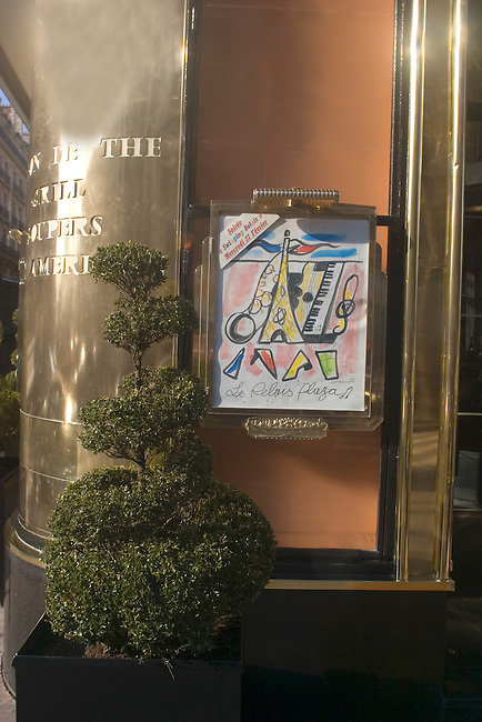 Exterior, Relais Palace Restaurant, Paris, France, Europe