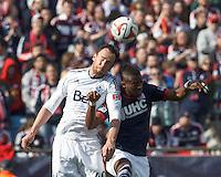 New England Revolution vs Vancouver Whitecaps, Saturday, March 22, 2014