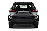 Straight rear view of 2020 Ford Edge SE 5 Door SUV Rear View  stock images