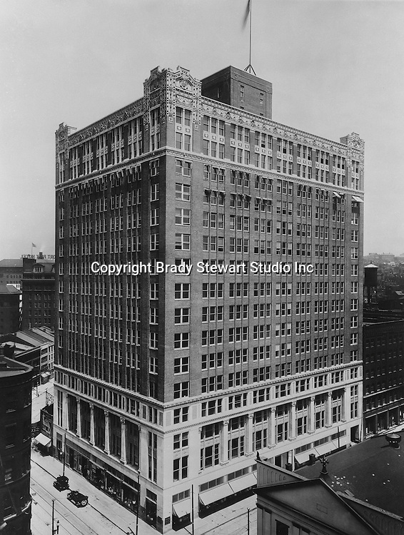 Pittsburgh PA:  The New Chamber of Commerce Building at the corner of 7th Avenue and Smithfield Street (411 Smithfield Street). <br />