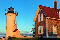 Nobska Point Light.Woods Hole, Cape Cod, Massachusetts