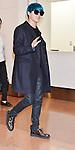 Jun-Su (JYJ), Mar 23, 2015 :  Tokyo, Japan : Korean singer Junsu Kim of JYJ arrives at Tokyo International Airport in Tokyo, Japan, on March 23, 2015.