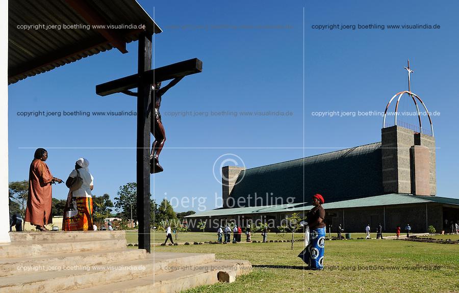 ZAMBIA Lusaka catholic cathedral at city center