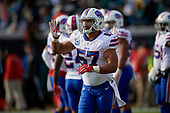 Buffalo Bills Lorenzo Alexander (57) during an NFL Wild-Card football game against the Jacksonville Jaguars, Sunday, January 7, 2018, in Jacksonville, Fla.  (Mike Janes Photography)