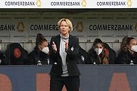 Trainerin Martina Voss-Tecklenburg (Deutschland, Germany) - 10.04.2021 Wiesbaden: Deutschland vs. Australien, BRITA Arena, Frauen, Freundschaftsspiel