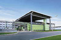 Image of the re-cycling plant in the Guangzhou Honda Automobile Co. Ltd. factory. The plant built at a cost of 140 million US$ is one of the most advanced car plants in the world. It has a state of the art production line as well as the world's first total water re-cycling system..
