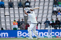 Rohit Sharma pads up and is LBW to Tim Southee during India vs New Zealand, ICC World Test Championship Final Cricket at The Hampshire Bowl on 22nd June 2021