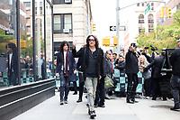 NOVA YORK, EUA, 29.10.2018 - CELEBRIDADES-EUA -  Paul Stanley e Gene Simmons da banda Kiss são vistos na ilha de Manhattan na cidade de Nova York nesta segunda-feira, 29. (Foto: Vanessa Carvalho/Brazil Photo Press)