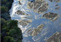 Arkansas River, Pueblo County, Colorado.  July 2012