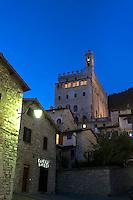 Italien, Umbrien, Palazzo dei Consoli in Gubbio